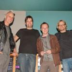v.l.: David Raven, Thomas Berger, Tinu Gerber, me