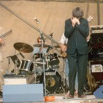 Checkerboard Blues band mit Philipp Fankhauser 1986