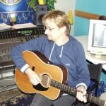 Im Studio 2001